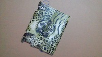 Fashion strange green tiger pattern back hard case for iPad 2 3 4  For ipad 2 3 4  hard case Promotional price