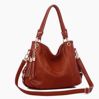 2015 Promotion tassel leather women messenger bags desigual women handbag bags handbags women famous brand tote bags