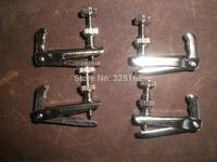 12 PCs Silver Color Violin Fine tuner 3/4-4/4