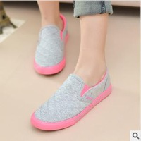 sapatilhas femininas 2014 sapatenis feminino Pedal lazy Leisure Canvas low candy color lovers shoes fsneakers 039