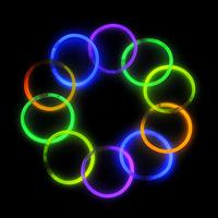 Free shipping 100pcs/lot Party toy Fluorescence sticks, Night light stick,glo-sticks