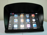 "10pcs 7"" universal GPS sunshade sunshine shield for 7 inch car GPS freeshipping"