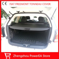 High Quality! Rear Trunk Security Shield Cargo Cover For FIAT Freemont 7 Seat
