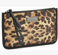 Free Shipping New Leopard Grain Hand Carry Bags Women's Casual Fashion Brand Wallet Phone Package