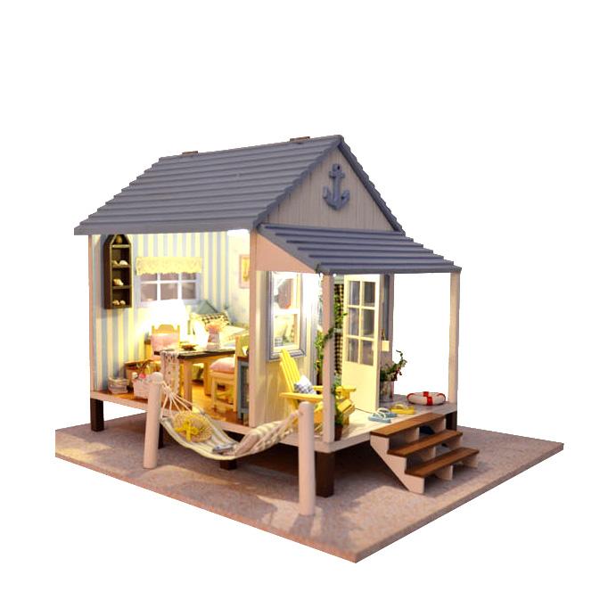 Doll House Lover Dream House Furniture Handmade Wooden House Dolls ...