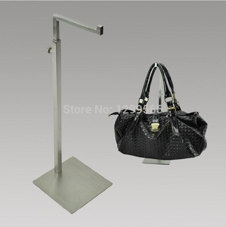 Free shipping Stainless steel adjustable bags handbag display holder rack TS06(China (Mainland))