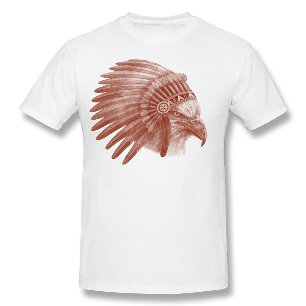 New Arrival Gildan Men T Shirt Eagle Chief Design Boys T Shirts(China (Mainland))