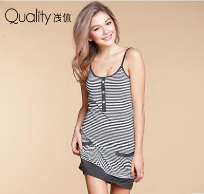 Женские ночные сорочки и Рубашки Qianxiu 1430 женские ночные сорочки и рубашки gl brand babydoll halterneck prod num 4732