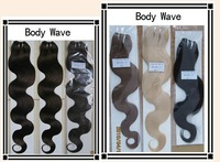 """12""""-30""""inches Machine weft body wave Hair extensions *Various color selection*1piece/100grams*"""