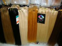 """12""""-30""""inches Machine Weft straight Hair extensions *Various color selection*No Shedding No Tangle*1piece/lot*"""