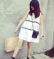 Fresh vest dress women summer new Korean version of Women 2014