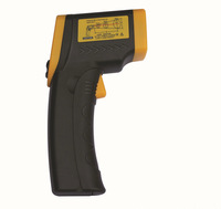 Precise Non-Contact LCD Display Digital IR Laser Infrared Pointer Thermometer Temperature Alarm -50 to 550 Degree Gun industrial