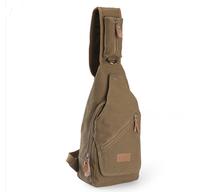 Man bag chest pack casual bag messenger bag canvas bag male ride large