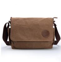 Man canvas male shoulder messenger casual man student bag