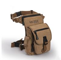 Waist pack leg bag casual canvas  kits outdoor bag sports   small bag,free shipping