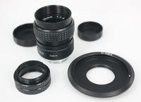 25mm f/1.4 CCTV Lens for nex nex3 nex5 + C Mount to NEX adapter + Macro Ring