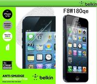 Japan material Belkin True Clear Transparent Screen Protector Film for iPhone 5 5S 5C original retail BOX Free shipping