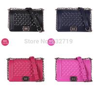 2014 New Fashion Crocodile Alligator Handbags Women Chain Leboy Snake Pattern Vintage Messenger Bags Celebrity Shoulder Bags
