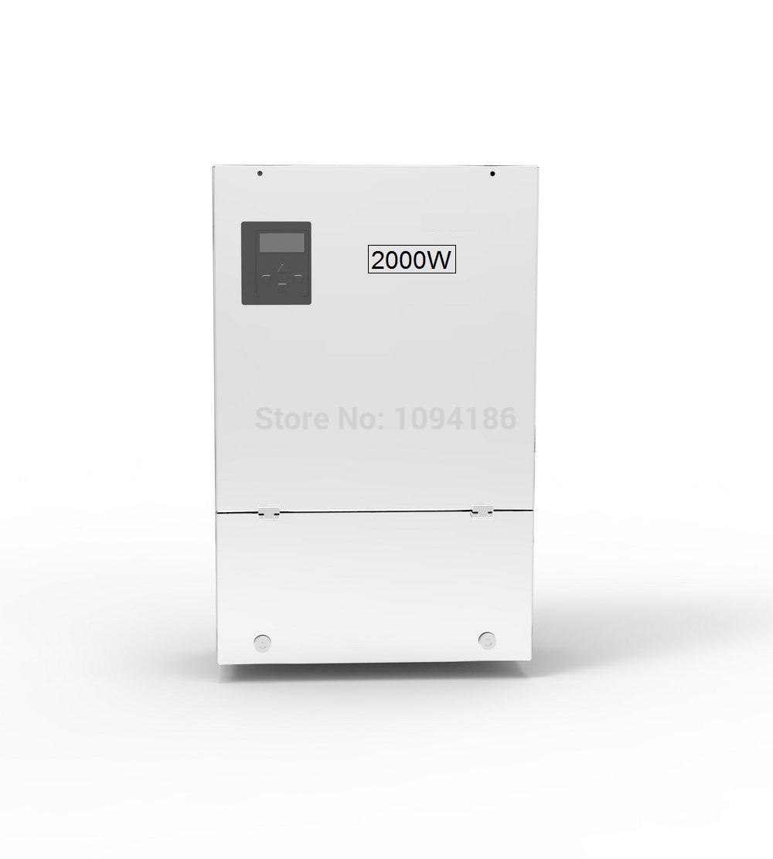 2000w hybrid off grid inverter, MPPT tracking range 60-160v integrated AC/DC charger controller, for 48V battery bank(China (Mainland))