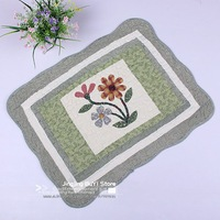 Free shipping,fashion home,nature style soft comfortable 50*70cm cotton floor,door, kitchen,carpet for living room