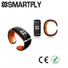 Smart Bracelet Bluetooth 3.0 Free APP Sync Call Answer SMS Email Alert mp3 Player Plus Pedometer Function -ORANGE