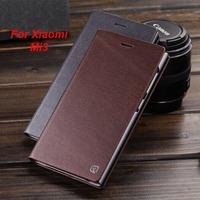 Xiaomi Mi3 case,Torras Brillant series Genuine leather flip back cover case for Xiaomi Mi3 ( xiaomi m3 /xiaomi 3 )