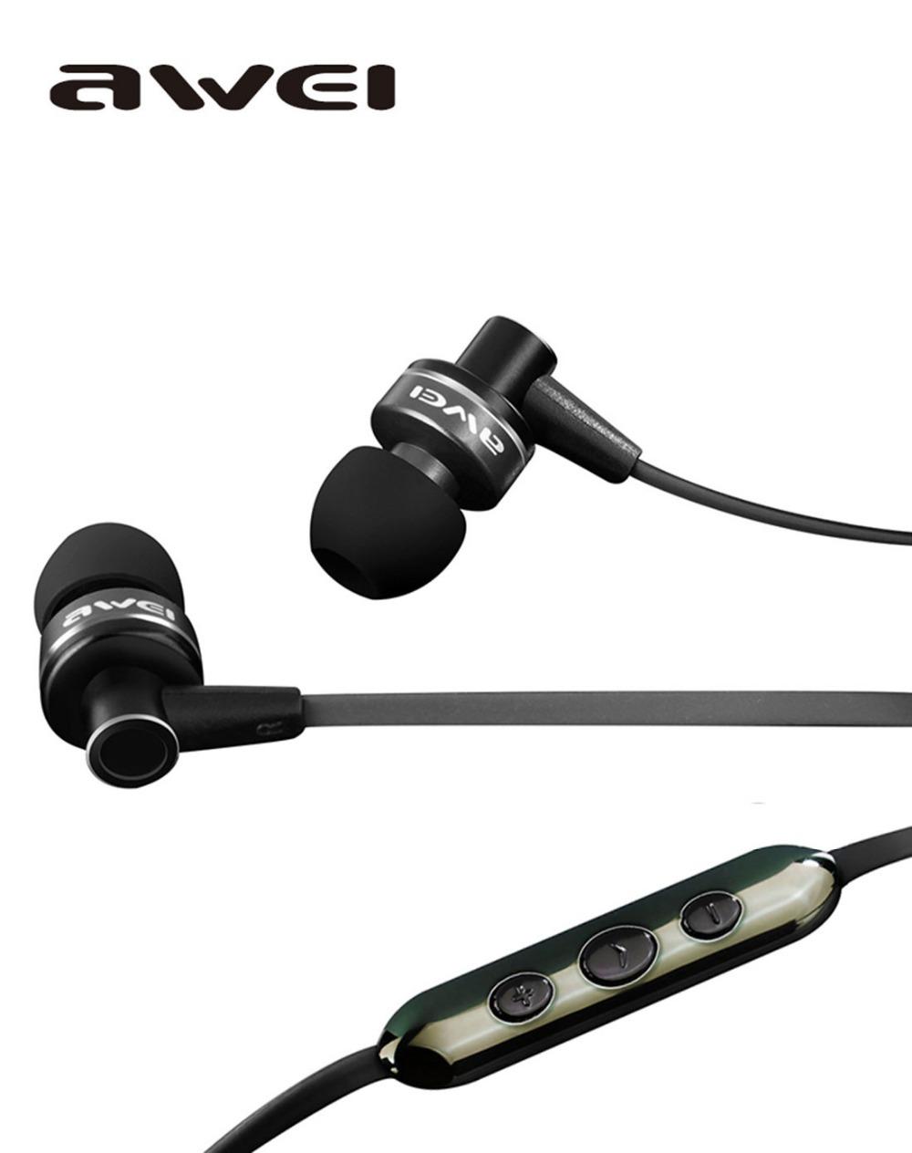 """"""" Super Best Awei DJ Headphone ES90Vi In-Ear Pioneira Estúdio fone de ouvido para Iphone HTC Samsung Xiaomi , Clear Bass com Headset Mic(China (Mainland))"""