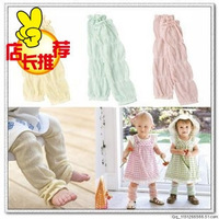 Free shipping! various color and style infant Leg warmers Children's Leg warmers Knee cap baby socks Knee let 4pairs/lot