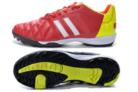 2014 Brand Soccer Shoes Kaka 6TH 11Pro TRX TF Soccer shoes Kangaroo Leather Upper MD Buttom Red Color Size 39-45