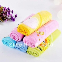 free shipping 2pcs/lot New Darol baby was / baby blanket new born blanket bath baby towel