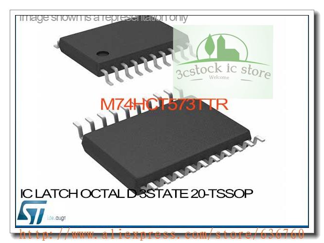 M74HCT573TTR IC LATCH OCTAL D 3STATE 20-TSSOP M74HCT573TTR 573 M74HCT573 M74HCT573T M74HCT573TT HCT573TTR(China (Mainland))