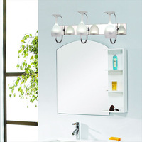 Modern Brief Cosmetic LED Mirror Light 6/9W Crystal Wall lamp Bathroom Light Waterproof Two /Three Head Optional Free Shipping