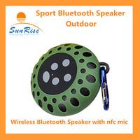 BTS-25  Portable outdoor Waterproof Wireless Bluetooth Speaker  Sport Bluetooth Speaker with Mic & FM Radio