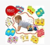 6Pairs/lot Baby Safety Knee Pad Kids Socks Children Short Kneepad Crawling Protector Free Shipping