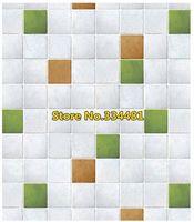 Free shipping 50*200cm Mosaic wallpaper oil paste bathroom waterproof wallpaper waistline dps-48 Home decoration