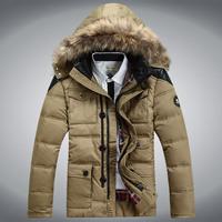 2014 winter male fashion casual plus size down coat ,men's brand down outwear jacket, outdoor jacket, snow wear,winter overcoat