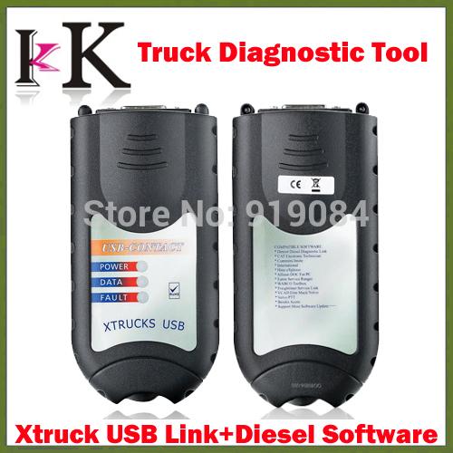 Professionnel xtrucks liaison usb + logiciel diesel. xtruck camion