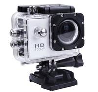 Gopro Hero 3 Full-HD DV 1080P 30M Water Resistant 170 Degree Wide Angle Motorcycle Bicycle Sports Helmet Camera SJ4000