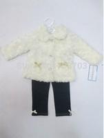 baby infant 3 pcs set bodysuit Coat trousers jacket jumpsuit baby clothes 12 sets/lot#8021