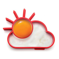 Min Order $15(mixed order) Silicone Egg Ring Shaper Monkey Business Novelty Sun/Cloud frying egg  Cooking tools