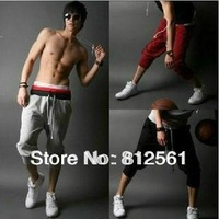 Hot!2014 New Hot Sale Mens casual shorts sport Pants harem hip hop pants sweatpants 4 color men's shorts Size:S-XXL,