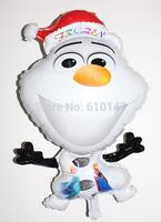 Free shipping 50pcs/lot foil balloons frozen balloon party balloon christmas balloon