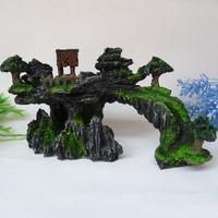Hotsale Mountain View Aquarium Ornament L20cm Decoration fish tank - Rock Cave Stone free shipping