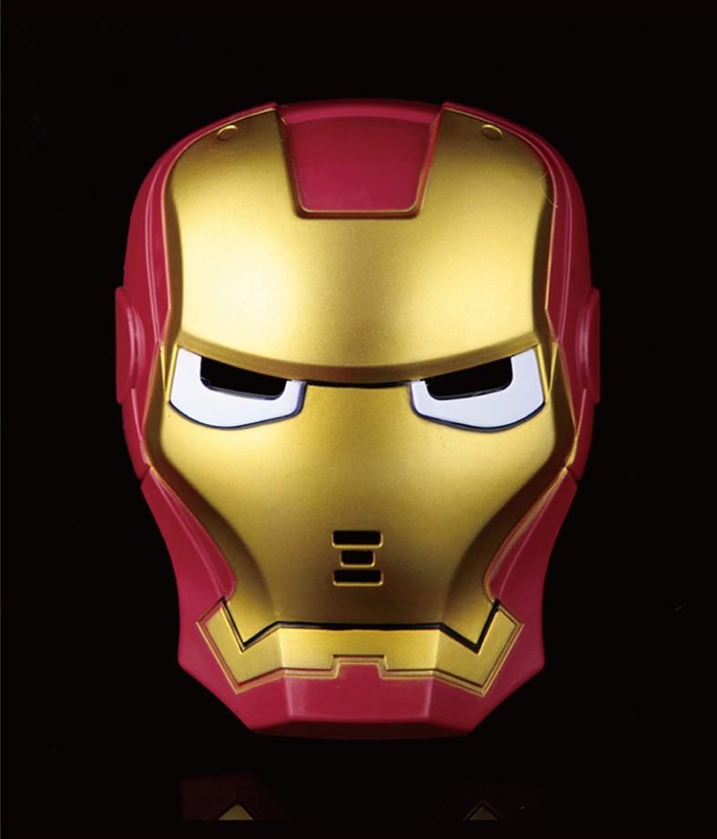 Iron Man Cartoon Face Wholesale Full Face Iron Man