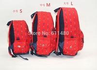 Baby children school bag  boys girls cotton  backpack schoolbag   infantil shoulder bag   kids bag mochilas 3size  S M L