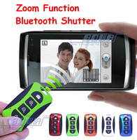 2014 New Arrival Zoom Function Bluetooth Shutter Remote Control For iPhone for Samsung for HTC for Sony iOS / Andriod