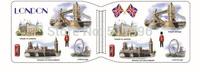 Great Britain souvenirs London card holder UK printed PVC credit card holder