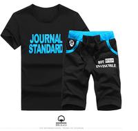 2014 New Arrivals Summer Men Sport Short Suit Men T Shirt+Men' Shorts Set / fashion sets