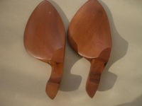 2 PC Jujube Violin Chin rest 4/4