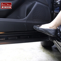Forester SUBARU door protective film xv door carbon fiber carbon film